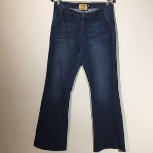 Dear John 30 Dark Wash Wide Leg Blizzard Jeans